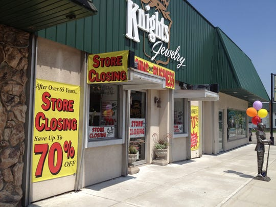 Knights Jewelry was liquidated in August 2013, but later that year was reopened.