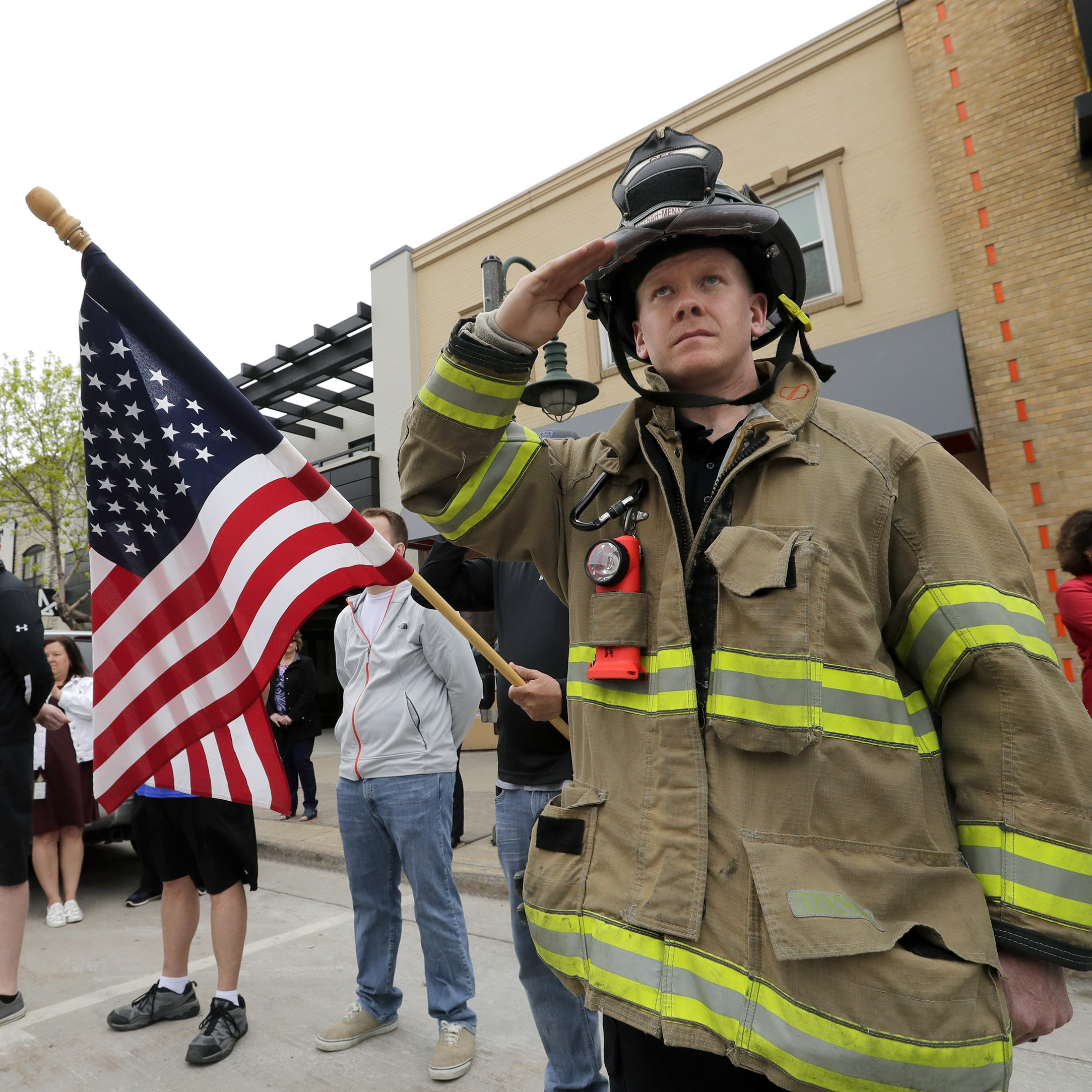 REPLAY: Funeral procession in Appleton for firefighter killed in shooting at Valley Transit