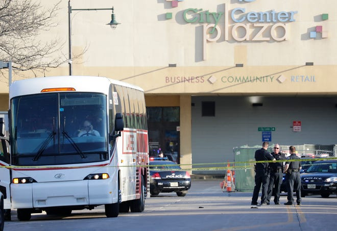Two people were killed and two were injured in a May 15 shooting at the Valley Transit Center in downtown Appleton.