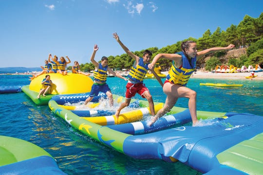 In June, Lacey Township plans to open an inflatable water park, purchased from Commercial Recreation Specialists of Verona, Wisconsin.