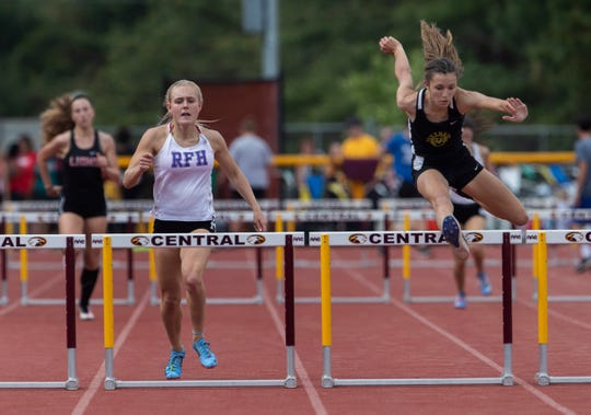 Shore Conference Track Championships at Central Regional High School in Berkeley, NJ on May 15, 2019.