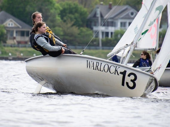 Southern Regional High School students Bridget Green and Brielle Willoughby  won the Mid-Atlantic Scholastic Sailing Association Girls Championship in May.