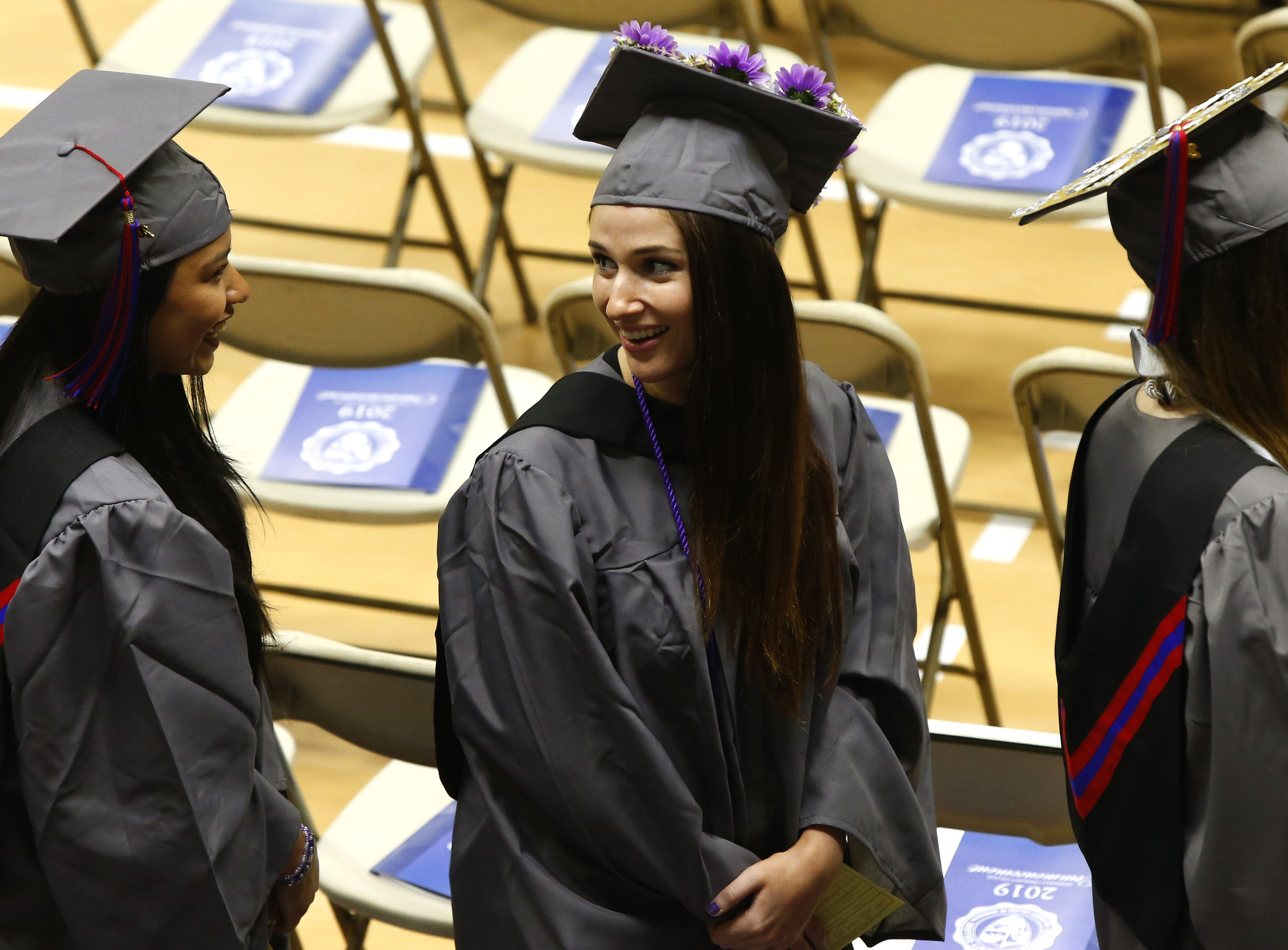 Brookdale Community College 49th annual commencement ceremony at the Collins Arena, Middletown, Thursday, May 16, 2019.