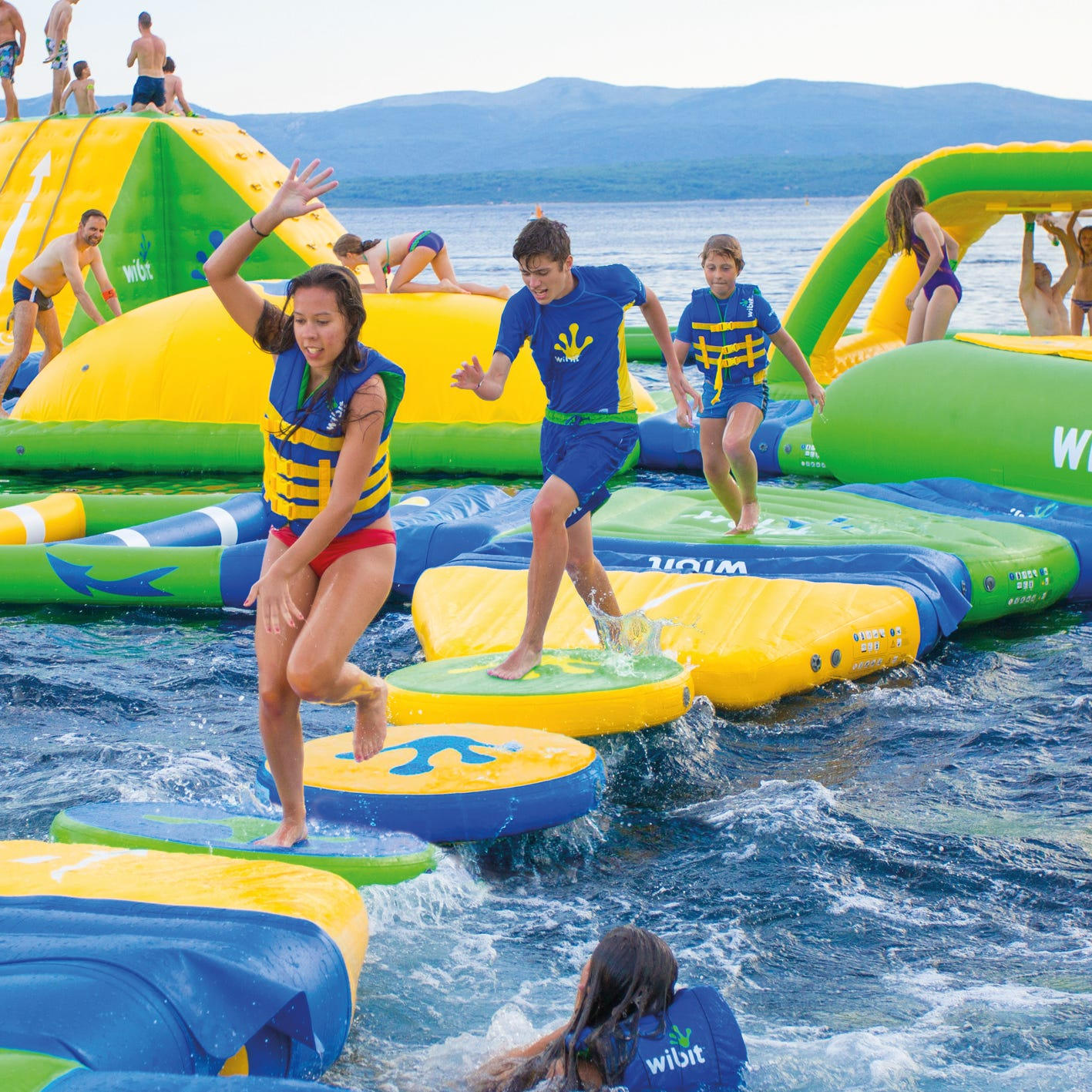Lacey to open inflatable water park in June
