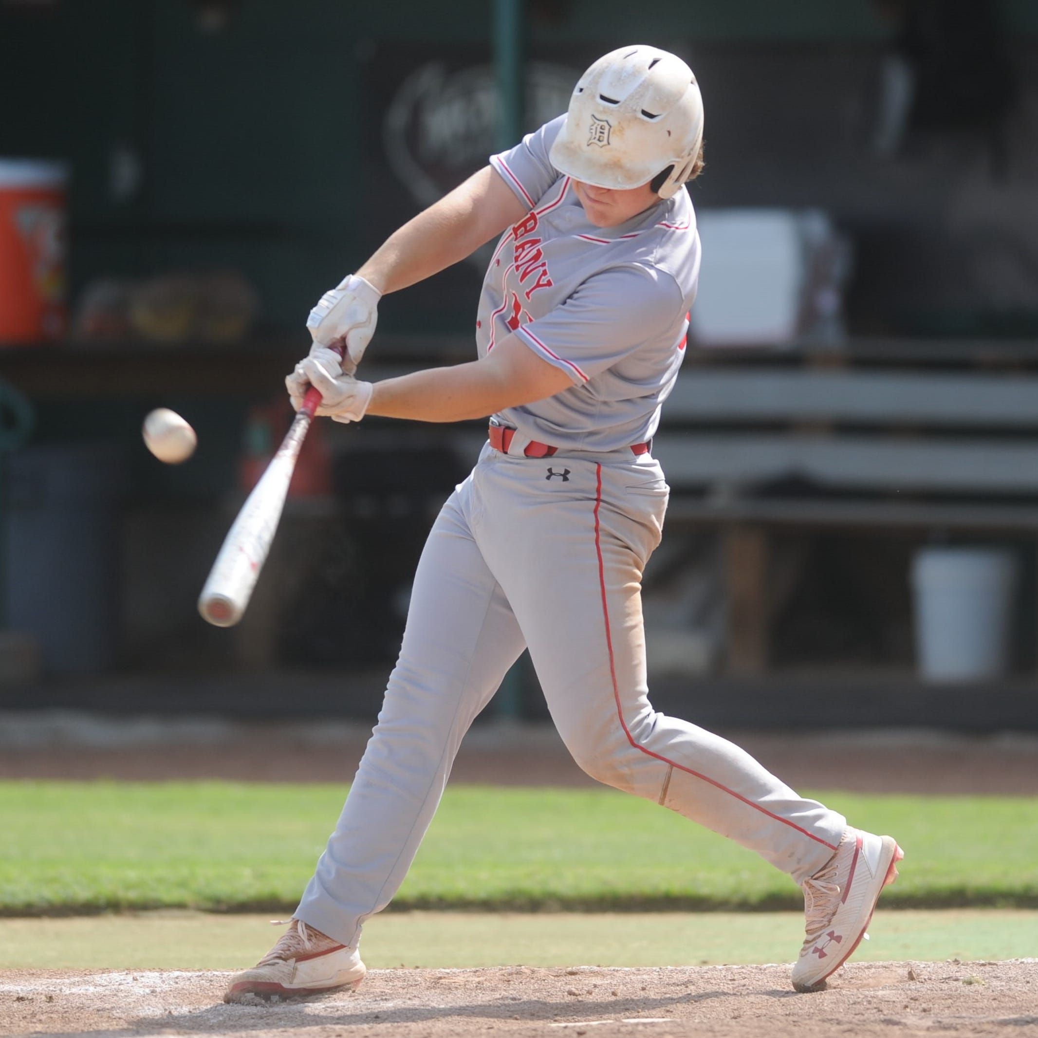 Clutch hitting allows Albany to complete doubleheader sweep of Haskell in region quarters