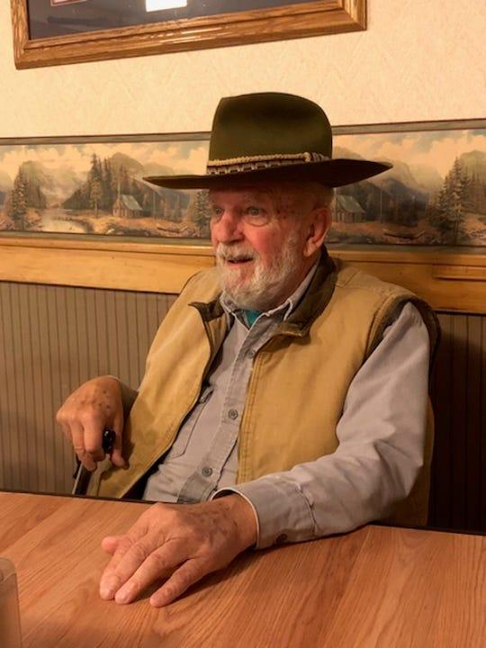 Wayne Jordan always wore a cowboy hat.