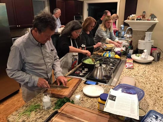 We had many great meals while visiting Chicago recently, but my favorite was the one we all cooked together.