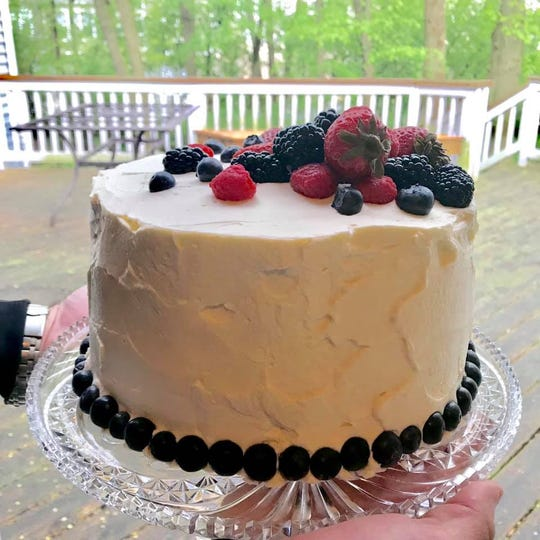 This Chantilly Cake with fresh berries is beautiful, delicious and perfect for spring.