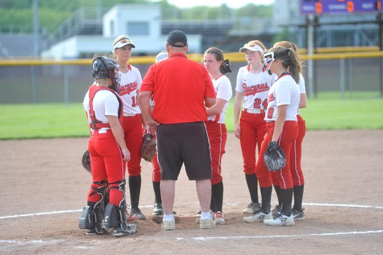 Jerry Hargis is in his 10th year coaching the Lady Redmen.