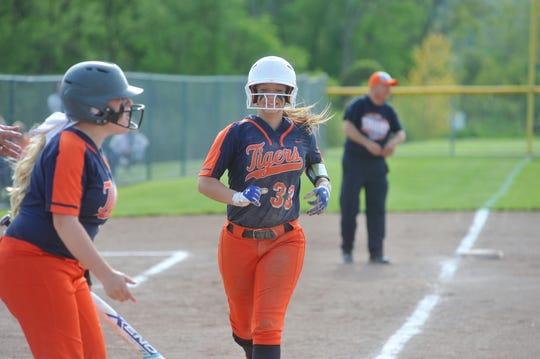 Galion's Nevaeh Clark led the entire Mansfield News Journal area with 16 doubles in 2019.