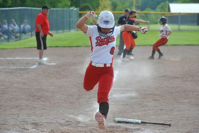 Bucyrus' Jade Torres is just as lethal with her bat as she is with her glove on defense.