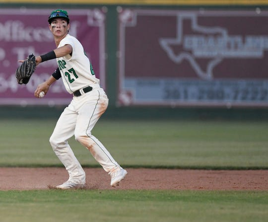 Bishop's Kobe Jaramillo gave up two runs on six hits as the Badgers defeated Odem 6-2 in Game 2 at Whataburger Field to sweep a Class 3A regional quarterfinal series.