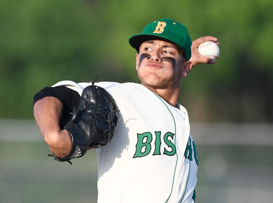 Bishop senior pitcher Nic Hernandez remembers when the Badgers last went to state in 2015 and he wants to make his mark on the program with a state tournament appearance.