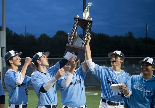Shawnee defeated Haddonfield, 2-0, in the Diamond Classic final played at Eastern High School in Voorhees on Wednesday, May 15, 2019.