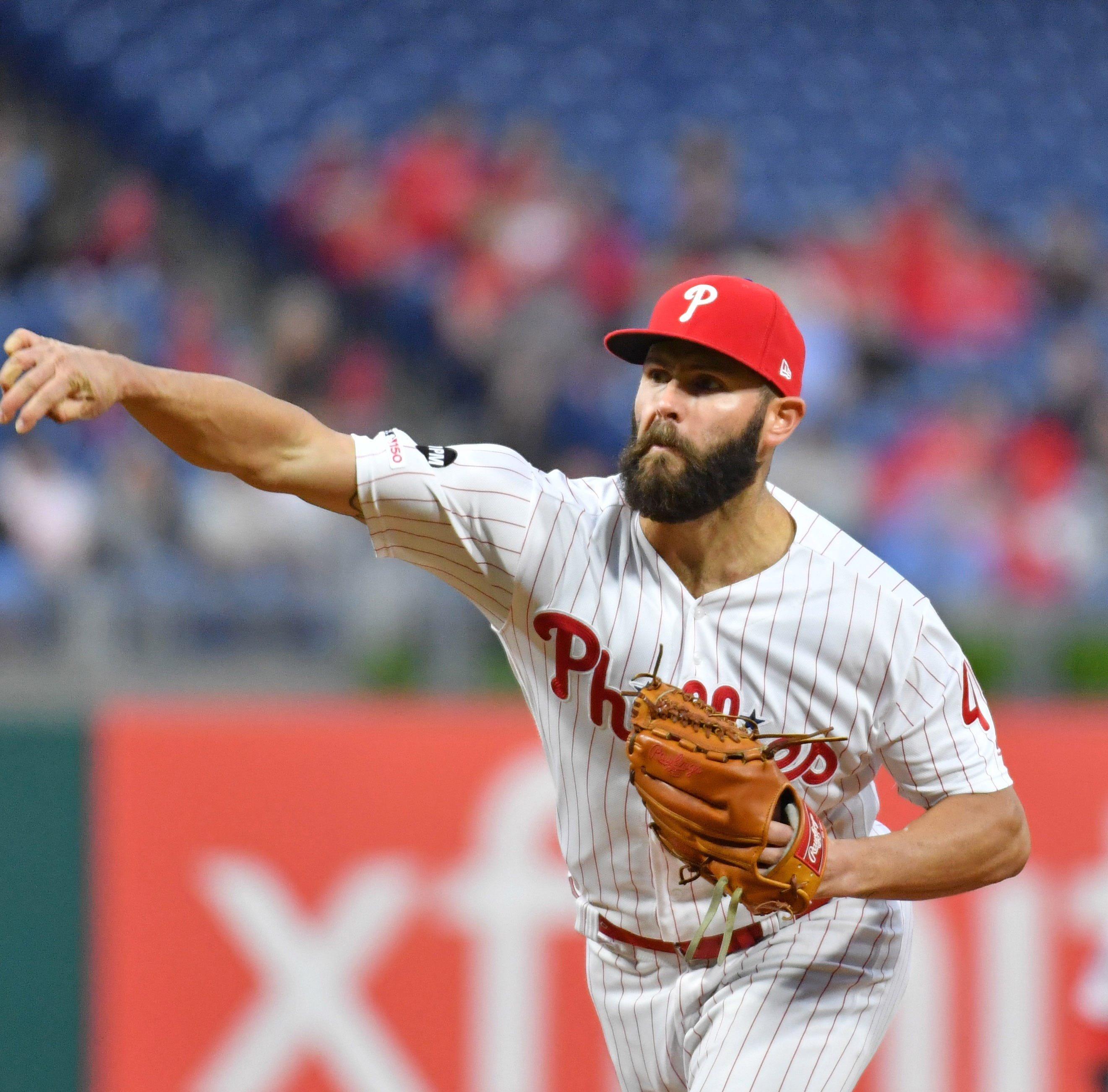 Arrieta struggles again as Phillies drop another to the Brewers