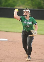 Ironton softball defeated Huntington 1-0 Wednesday night in a Division III district semifinal game at Unioto High School in Chillicothe, Ohio, on May 15, 2019.