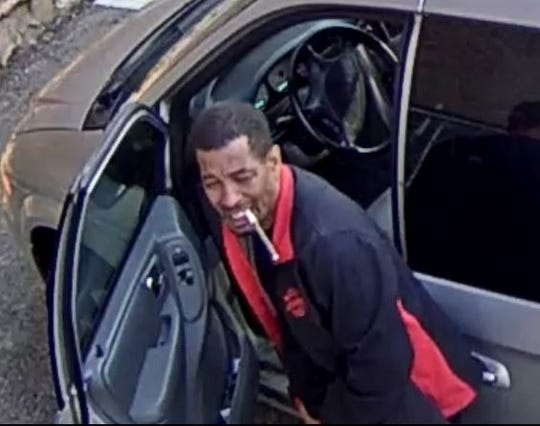 Surveillance image showing a suspect in an Over-the-Rhine hit and run. Police said they believe this man is Archie Williams.