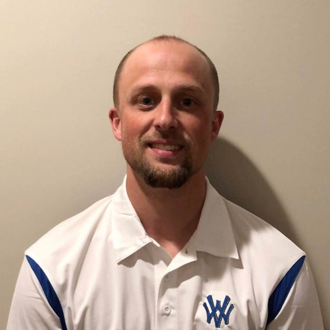 Mike Hester, Walton-Verona's new head boys basketball coach, taken May 15, 2019.
