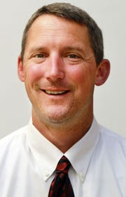 Kyle Niederman in a 2014 photo. Niederman, an assistant principal at Lloyd Memorial High School, was named its new head football coach May 15.