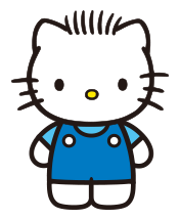 Dear Daniel, the spiky=haired boyfriend of Hello Kitty.