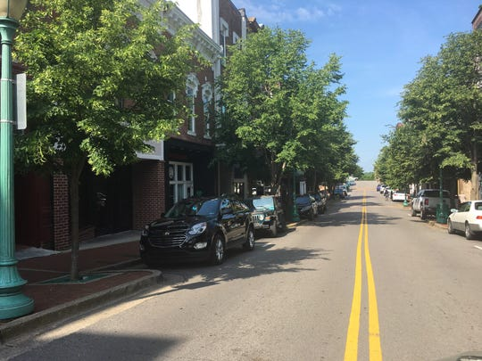 Trees along Franklin Street in Clarksville are set to be removed as part of a replacement project that will feature smaller, more compact varieties.