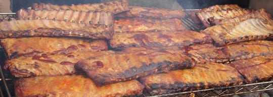 Ribs at the Rock, Ribs and Ridges festival.