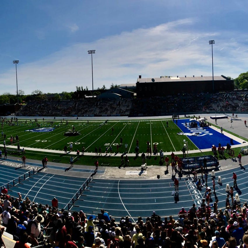 Weather pushes back Friday start time for 2019 state track meet
