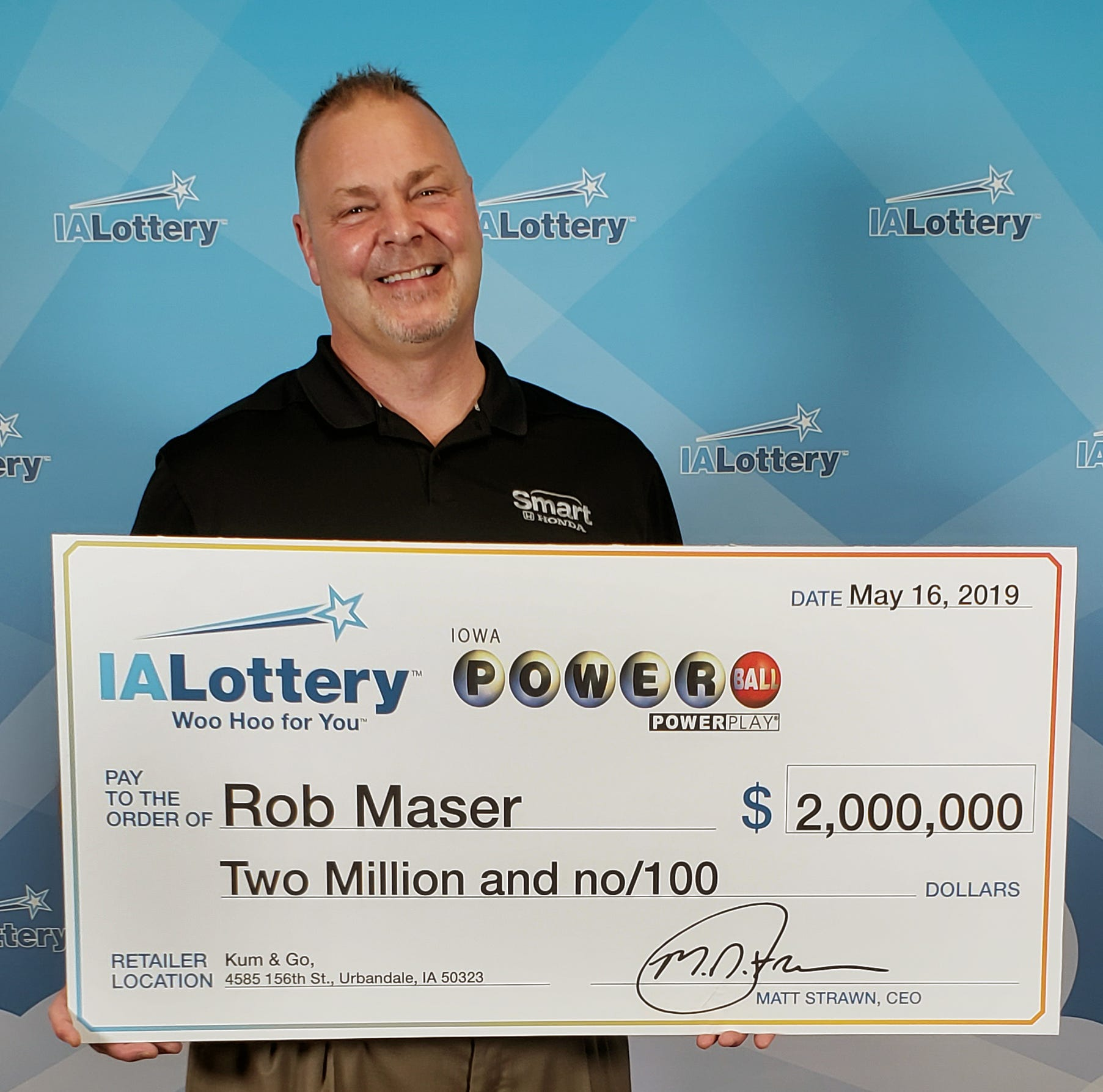Urbandale man: I won $2 million on Powerball. His dad: You're a liar.