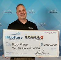 Powerball ticket wins $2 million for Urbandale, Iowa, man