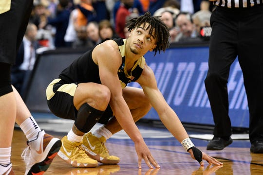 Carsen Edwards led Purdue to the brink of the Final Four in 2019.