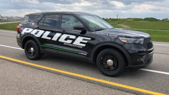 The first hybrid police SUV uses the same hybrid system as the upcoming civilian 2020 Explorer, but has upgraded brakes and handling for pursuit.