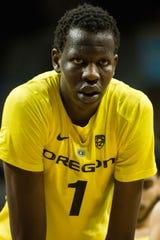 Bol Bol is the son of former NBA center Manute Bol.