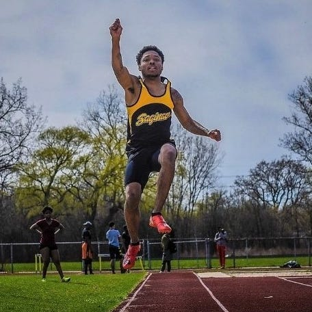 How Michigan State 'hit the lotto' by scooping up state's long jump record-holder