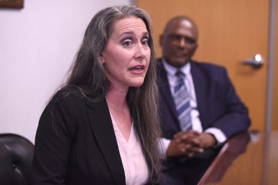 Melissa Chapman speaks about how Chance for Life, a program that offers support for ex-offenders. as the program has changed her life after spending 31 years in prison.