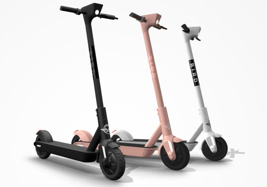 Bird's newest scooter, the Bird One, hit Los Angeles on Wednesday.