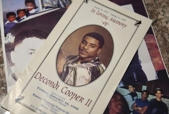 DeCondi Cooper died in an execution-style killing in Detroit when he was just 22 years old.