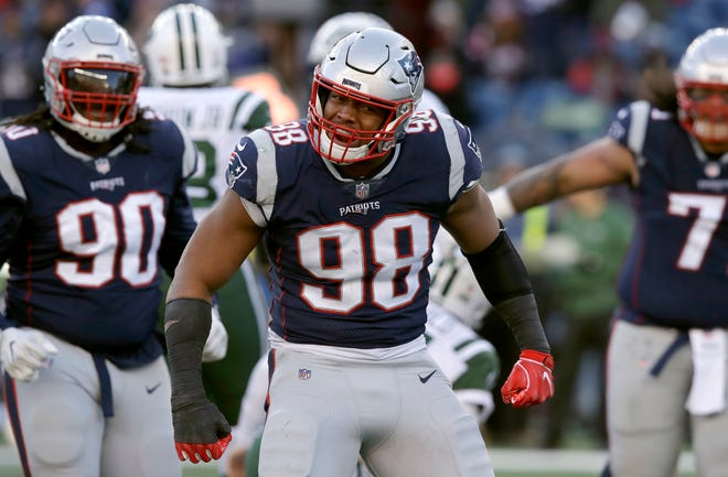 Defensive end Trey Flowers highlighted the Lions' haul in free agency.