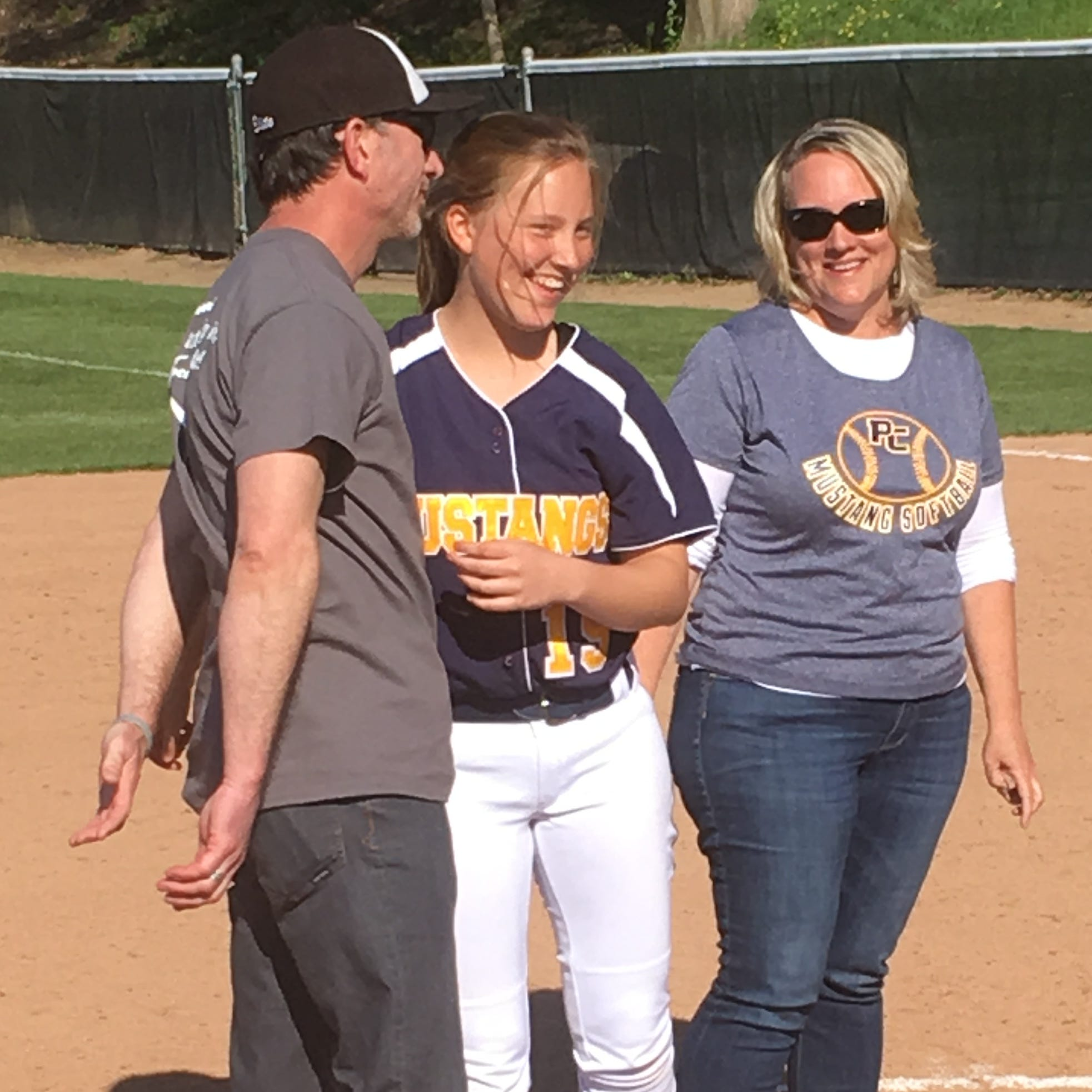'The smile of this team': Portage Central's Sophie Varney wages spirited battle against DIPG