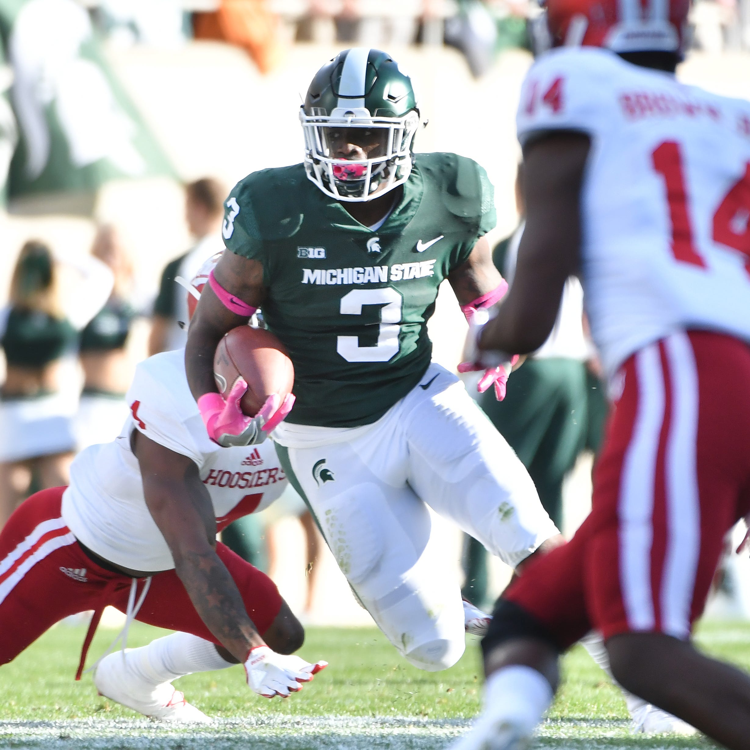 Browns waive former Michigan State running back LJ Scott