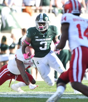 Former Michigan State running back LJ Scott was waived by the Cleveland Browns on Thursday.