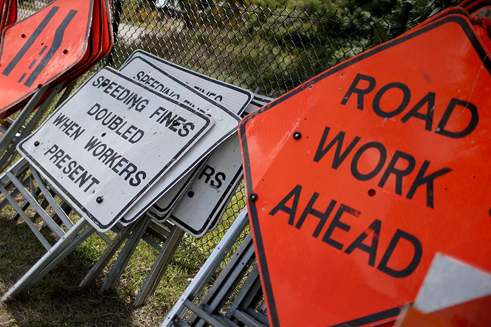 Larned exit from Lodge to Griswold to close for morning rush for repairs