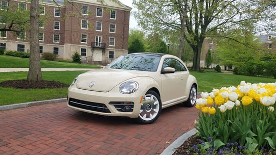 Seventy years after it came to the U.S., the VW Beetle is retiring -- for the second time (the first retirement came in 1978). The 2019 Beetle prowled the Penn State campus just as the first Beetles did when they took the country by storm in the 1960s.