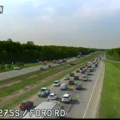I-275 reopens at Ford Road following fatal crash