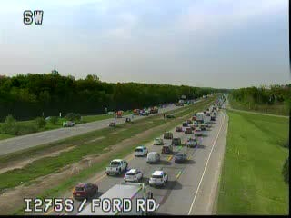A crash has closed all lanes of northbound I-275 at Ford Road, officials said.