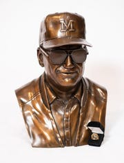A bust of Bo Schembechler will be auctioned during the ChadTough Gala.