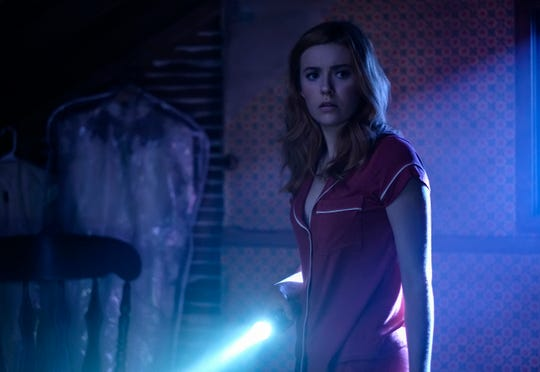 """Kennedy McMann as Nancy Drew in a scene from the upcoming series """"Nancy Drew,"""" premiering in the fall."""