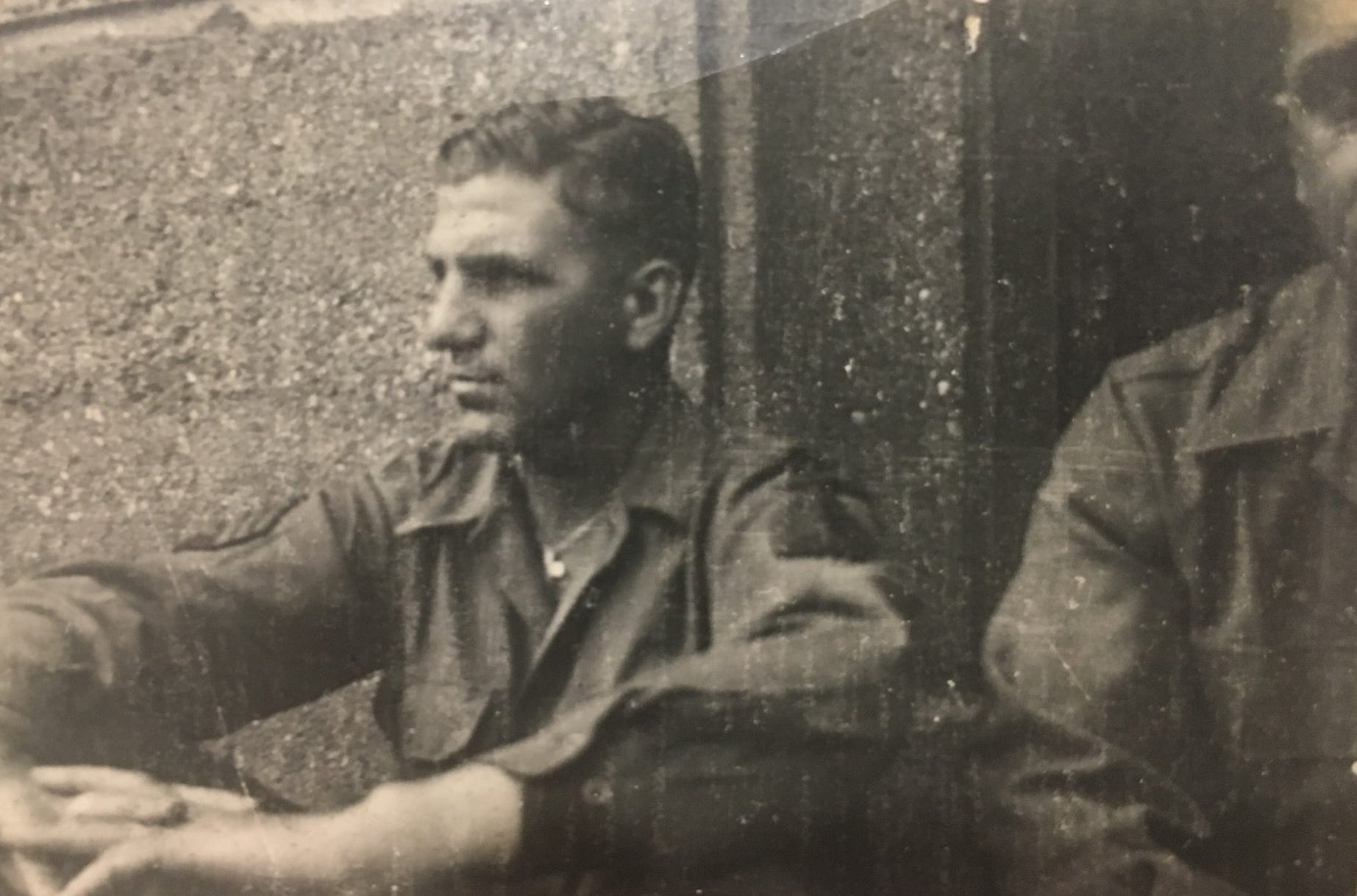 Carl Mann in October 1944.