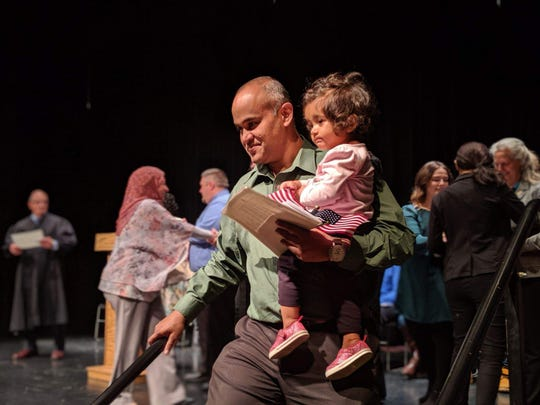 Vinay Kumar became a citizen after living in America for 19 years.