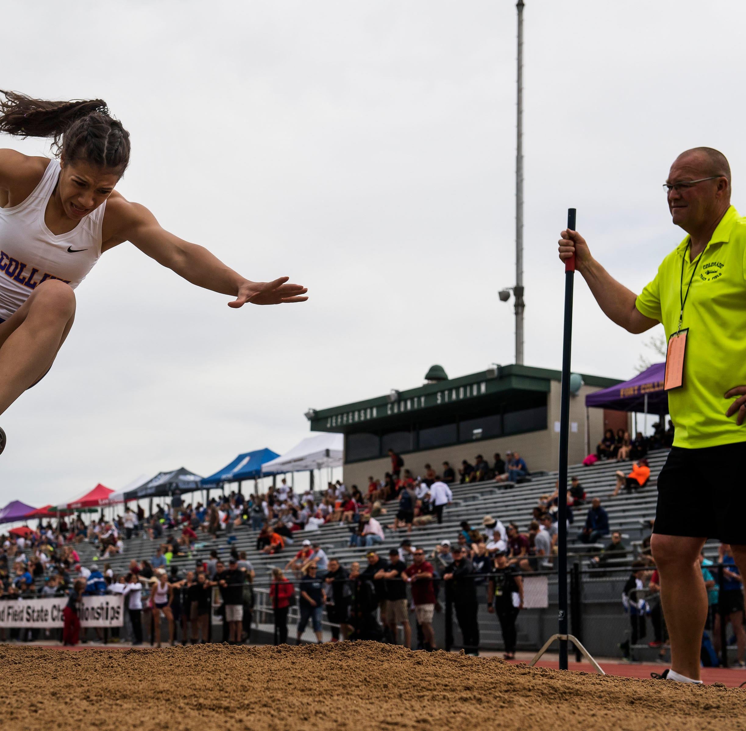 Fort Collins' Taryn Burkett wins Colorado Class 5A state title in girls triple jump