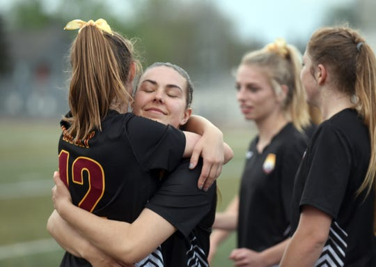The Rocky Mountain girls soccer team plays a 5A semifinal at 11 a.m. Saturday at EchoPark Stadium.
